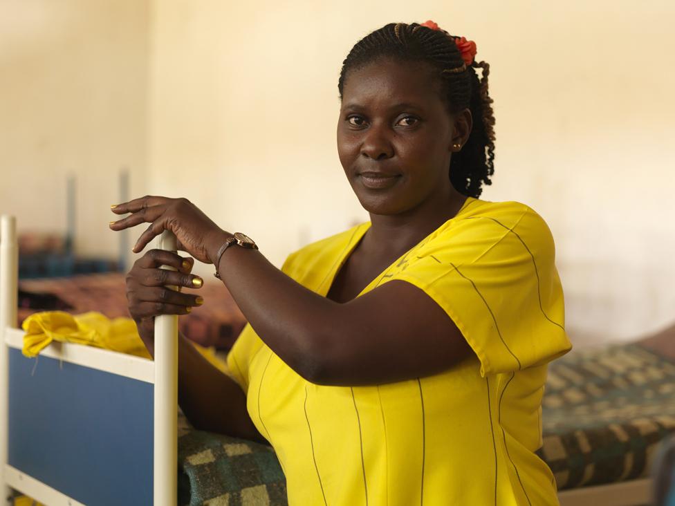 Susan Kigula in Luzira Women's Prison in 2013