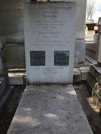 Laura y su esposo están enterrados en el cementerio Père-Lachaise de París.