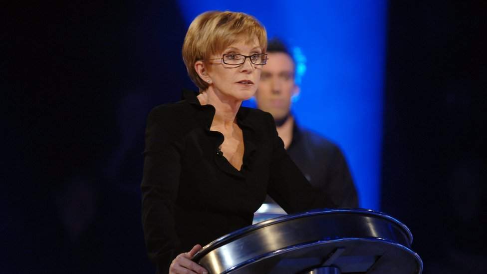 Anne Robinson Older People Need To Be Clever And Thin To Be On Tv Bbc News