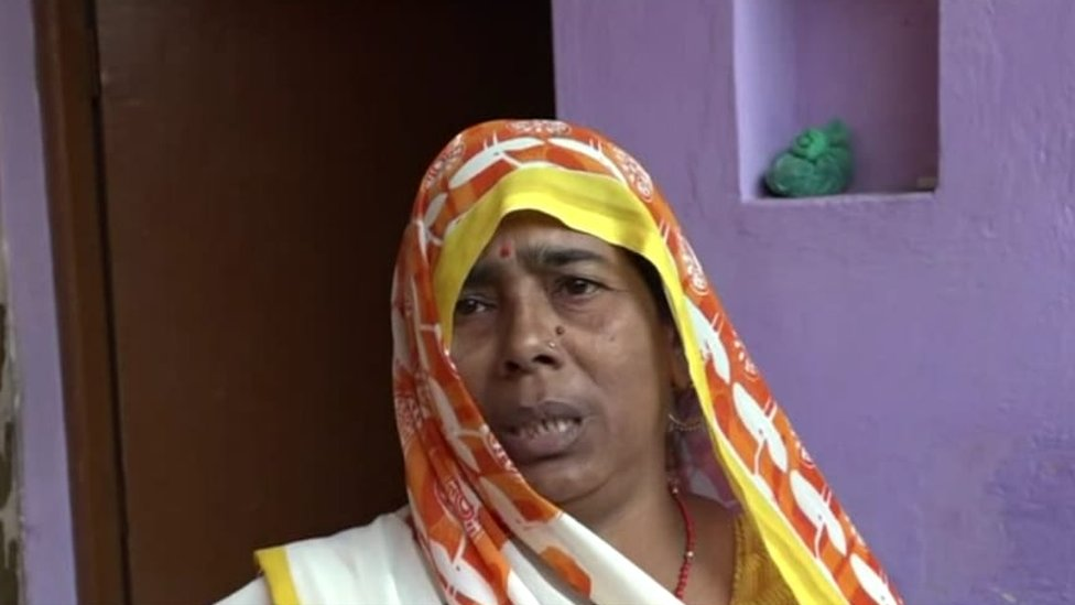 Pushpa Devi, the baby's grandmother, told the BBC that people are living in fear of monkeys