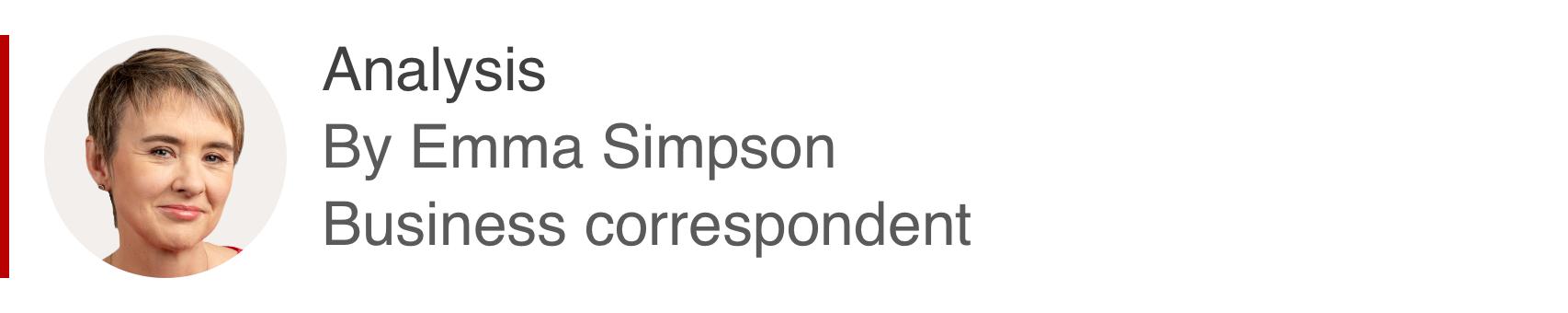 Analysis box by Emma Simpson, business correspondent