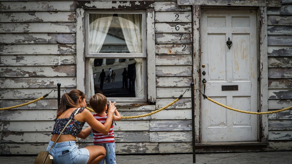 Rosa Parks' house on display in Naples