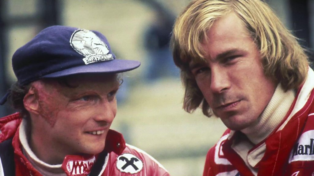 Hunt v Lauda: One of F1's greatest rivalries