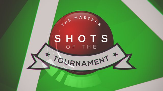 BBC Sport's shots of the tournament from the 2016 Masters