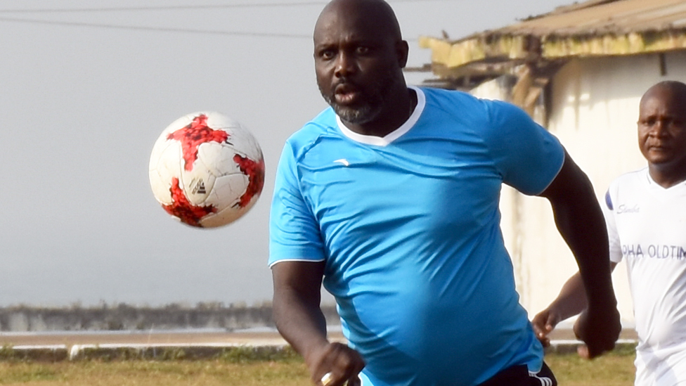 Liberia - where no-one dares to tackle President George Weah