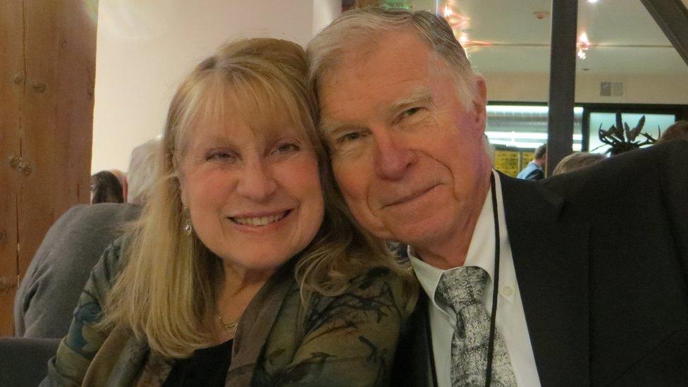 Jim Hurson and his wife