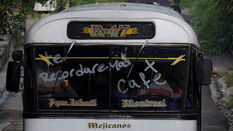 Autobus en Mejicanos