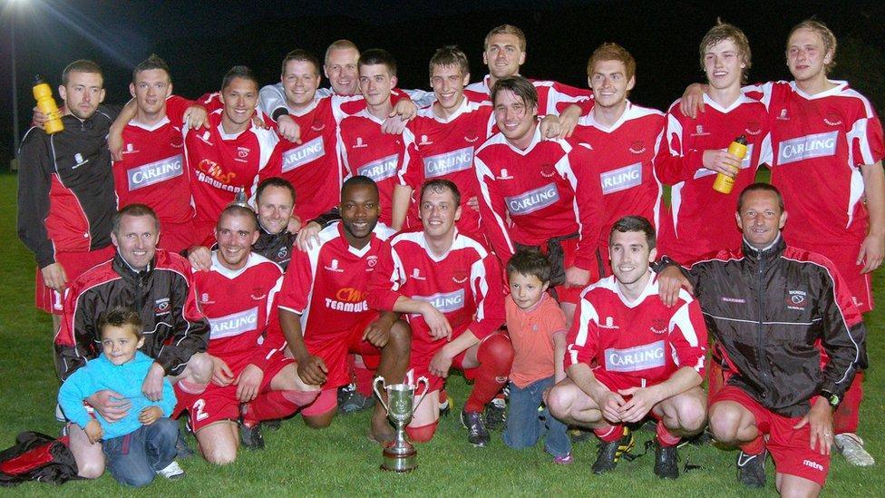 Ton Pentre FC in 2011