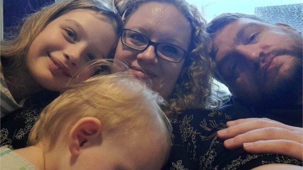 Robert and Paula Bateman and their daughters Lexi and Elizabeth