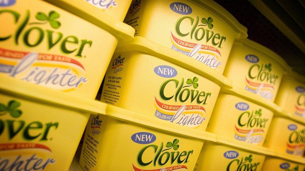 Clover butter