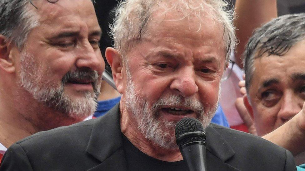 2019年11月盧拉暫時獲得釋放