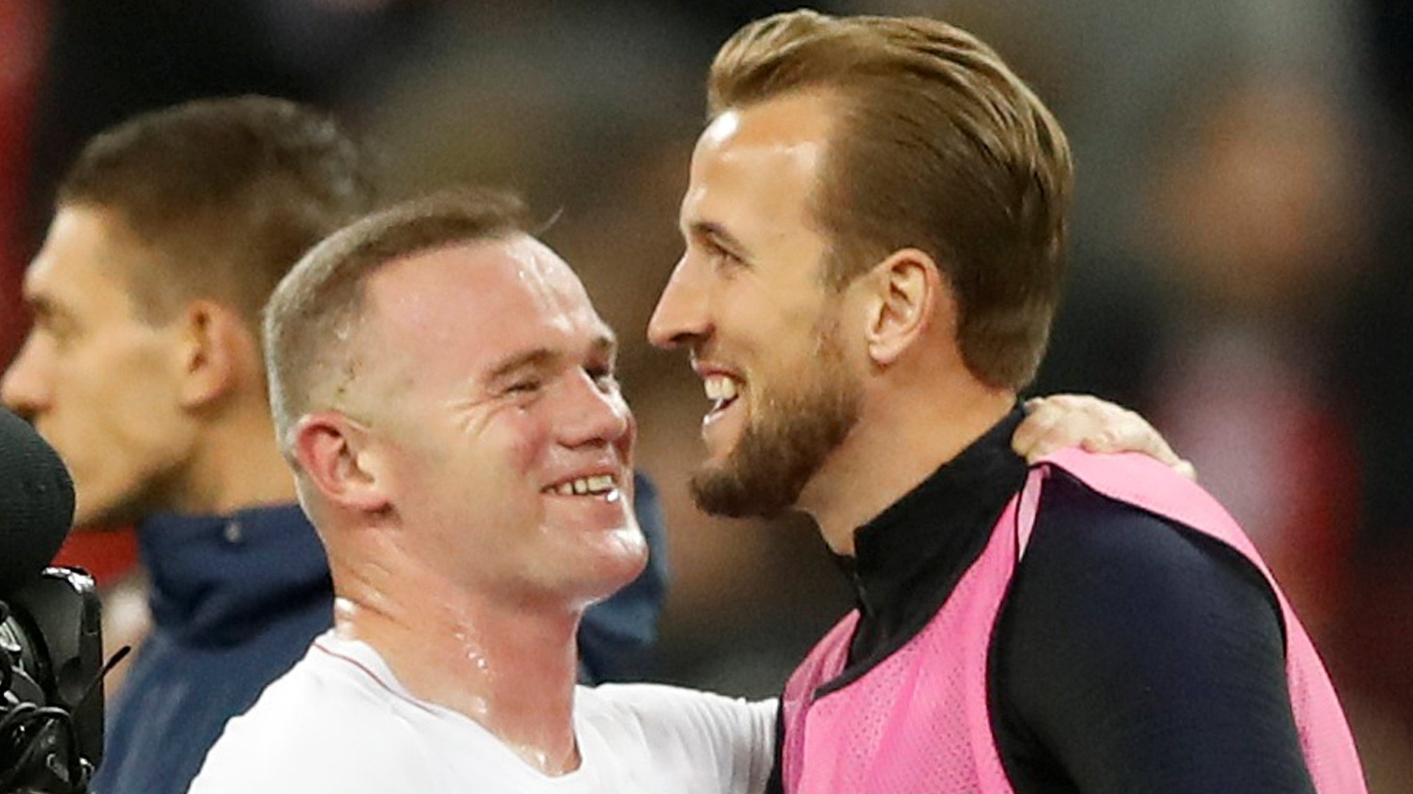 Kane will break my record, says Rooney after 'special night' at Wembley