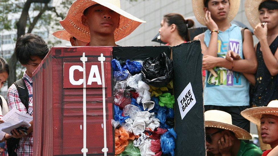 protestas en Manila, Filipinas, 2015