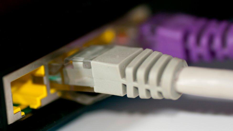 كابل إنترنت