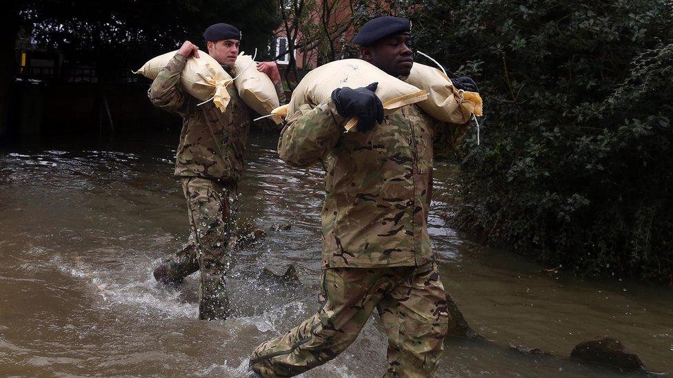 Army flood