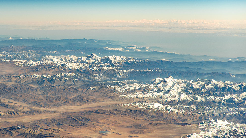 Himalayas from the ISS