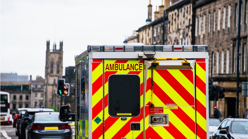 Emergency bag stolen from Edinburgh ambulance