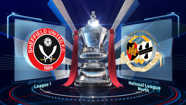 FA Cup: Sheffield Utd 3-0 Worcester highlights