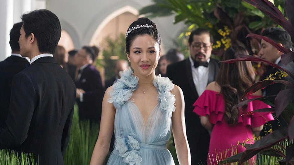 Constance Wu in a still from Crazy Rich Asians