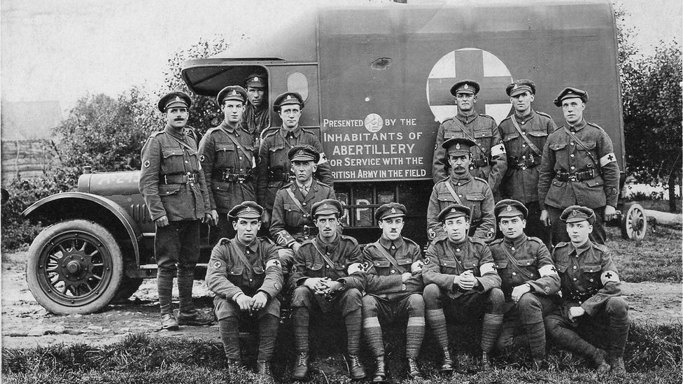 The unit was raised mainly from St John-trained men from across the south Wales coalfields – Amman, Garw, Ogmore Vale and Rhondda valleys and Gwent