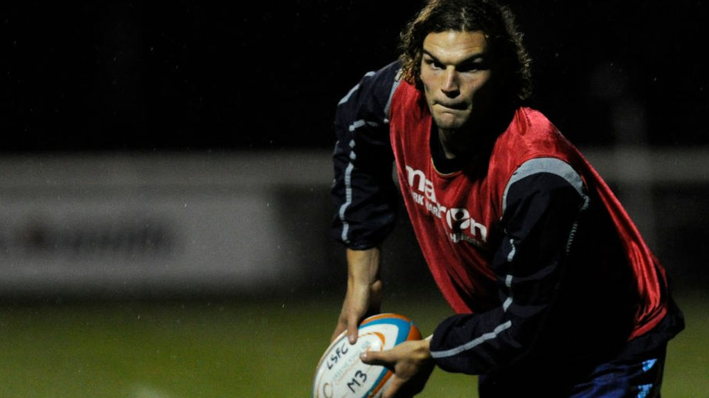Theo Vukasinovic: Wasps sign lock from London Scottish