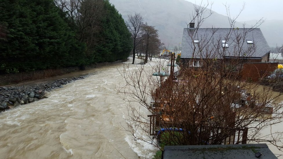Flooding at Glenridding