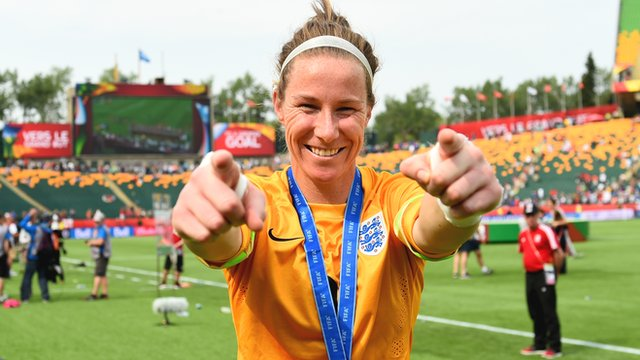 England's Karen Bardsley