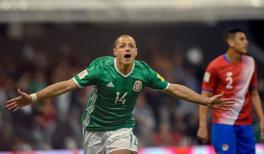 """Javier """"Chicharito"""" Hernández"""