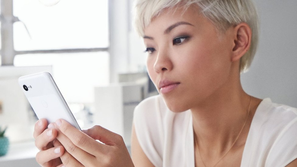 Pixel 3 phone