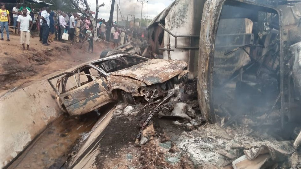 Kogi accident: Black Wednesday as fuel tank truck collision
