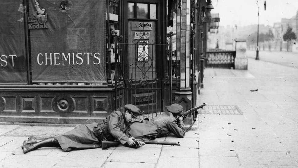 Snipers during the Irish Civil War