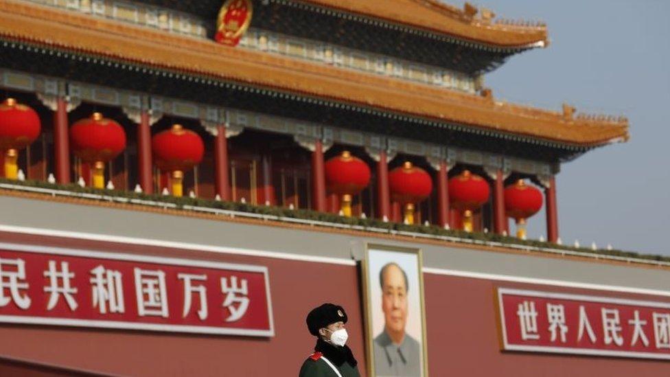 中國首都北京天安門廣場