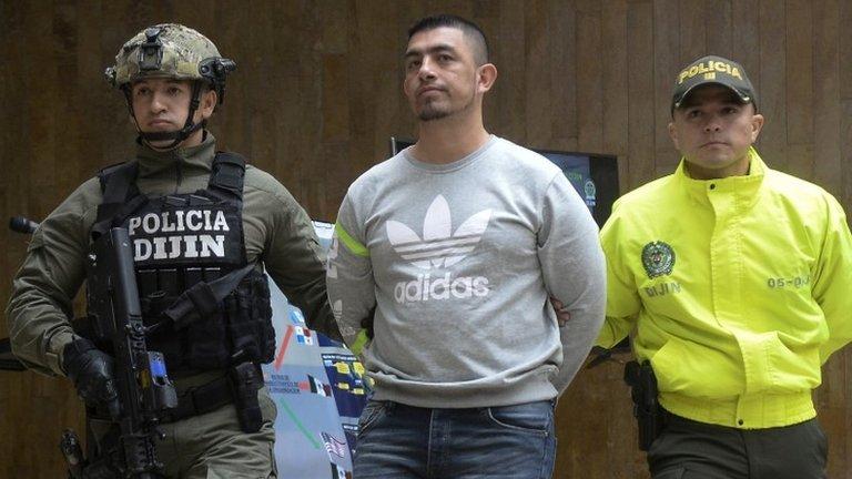 Washington Prado Álava: Colombia extradites top drug suspect to US
