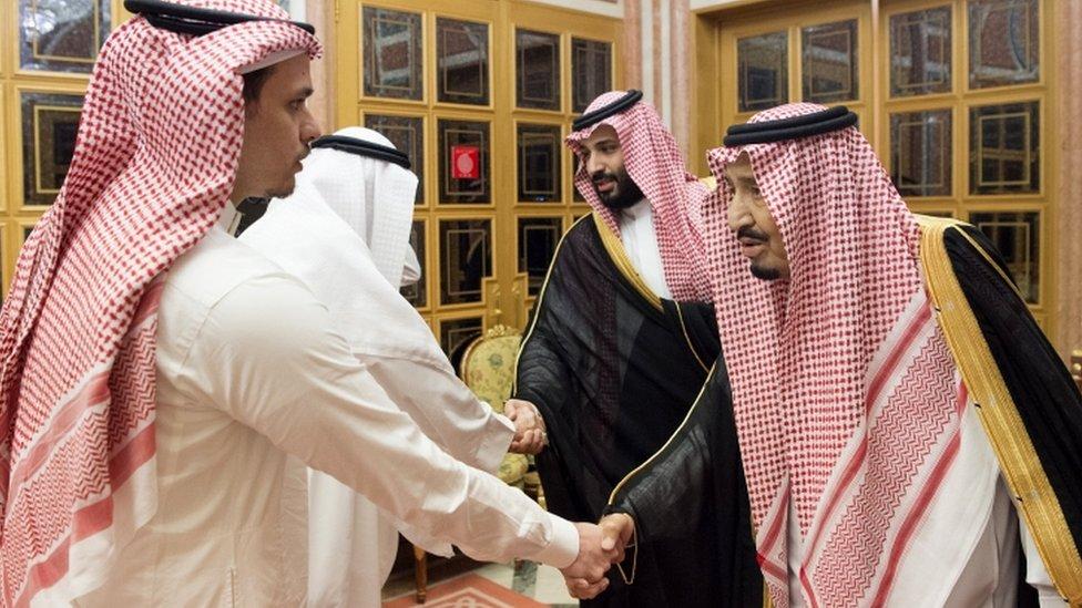 Saudisjki kralj, prestolonaslednik, Kašogijev sin i drugi člna porodice