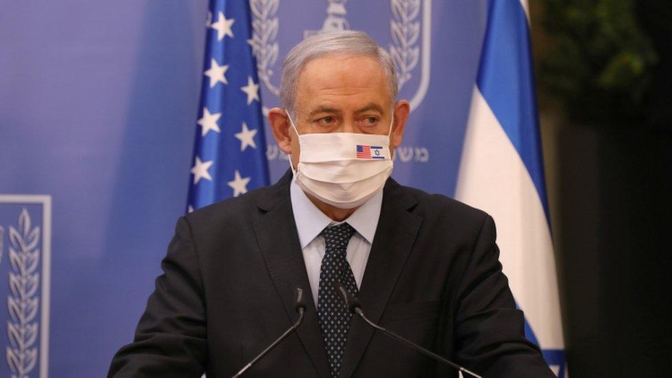 عاد نتنياهو قبل يوم فقط من إغلاق تام تفرضه السلطات في إسرائيل بالتزامن مع ذكرى مطلع السنة العبرية