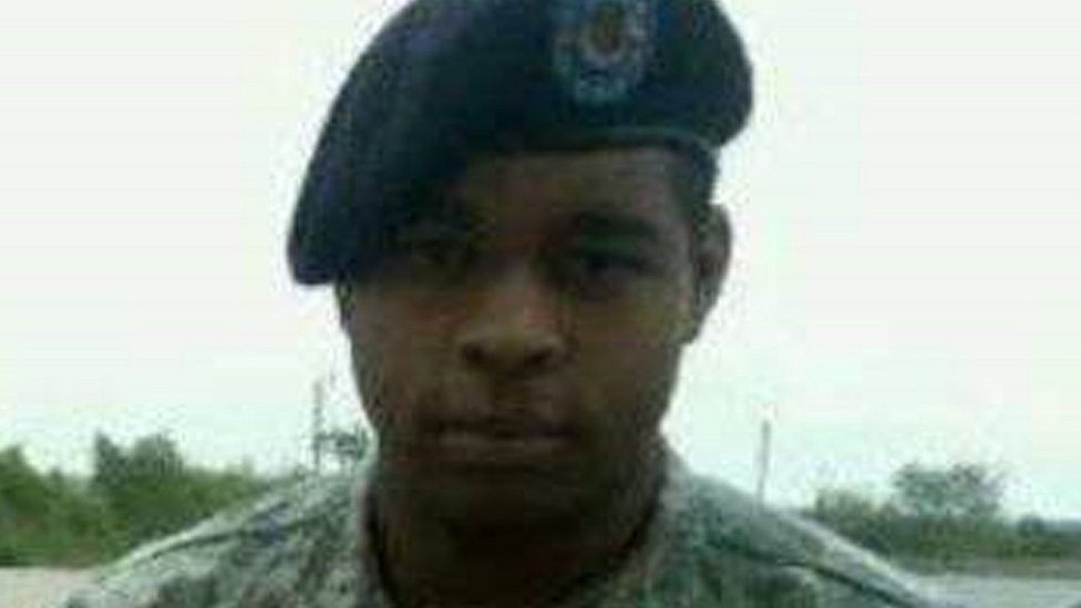 Picture of Micah Johnson from Facebook