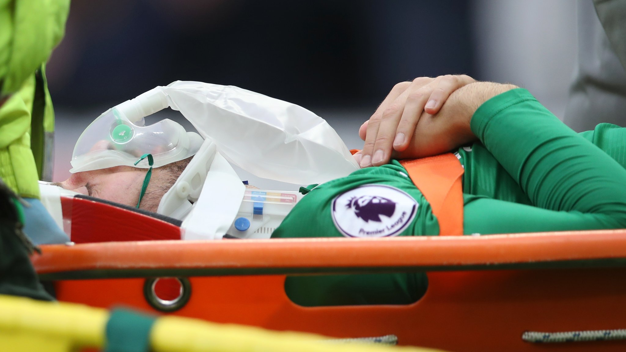 Glenn Murray: Brighton striker out of hospital after concussion