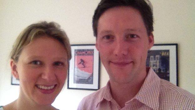 Rebecca Francis and Tom Bray