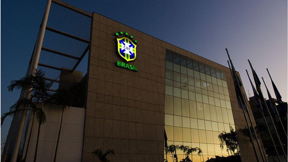 El robo ocurrió en la sede de la Confederación Brasileña de Fútbol en Río de Janeiro.