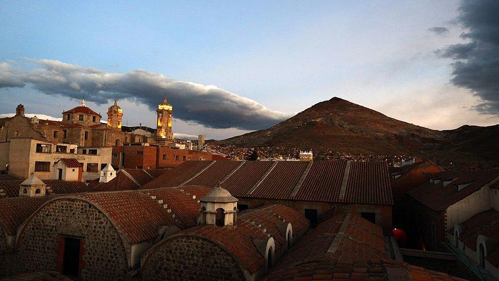 Edificios coloniales de Potosí