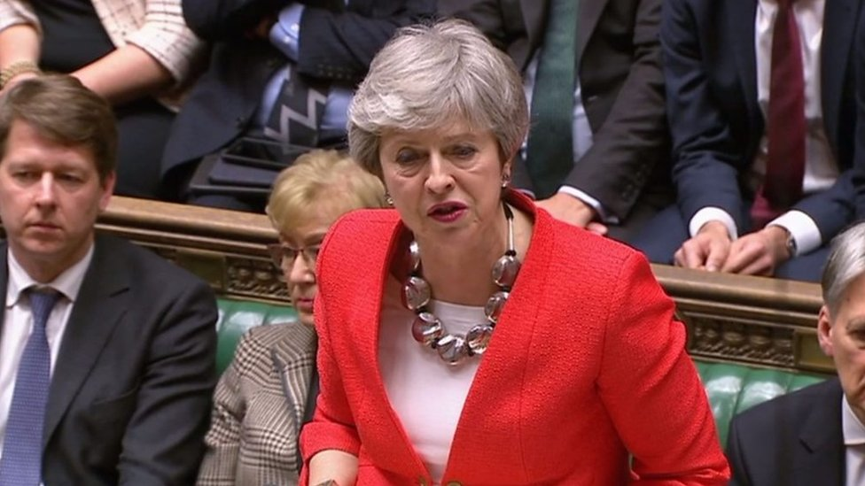 Brexit vote: May says she 'profoundly regrets' MPs' decision
