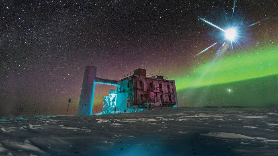 El laboratorio de IceCube