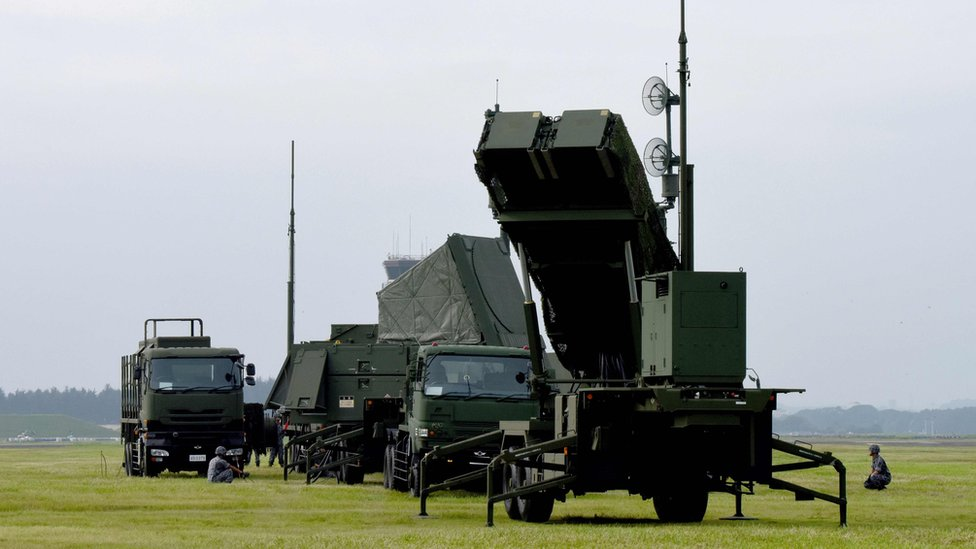 PAC-3 missile defence system