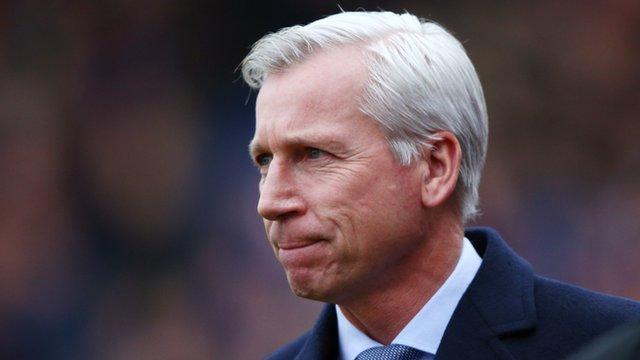 Crystal Palace 1-3 Tottenham: Alan Pardew bemoans attacking depth