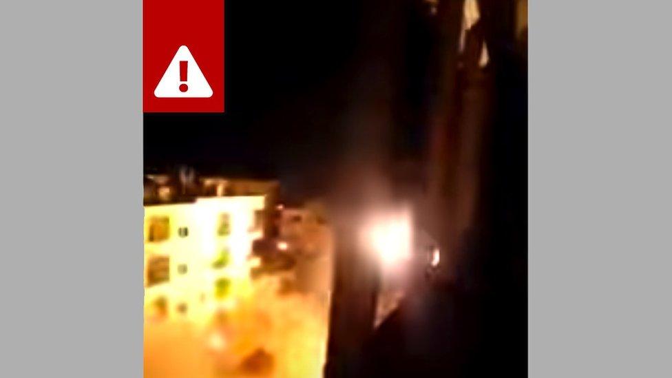 Video pertempuran di Suriah