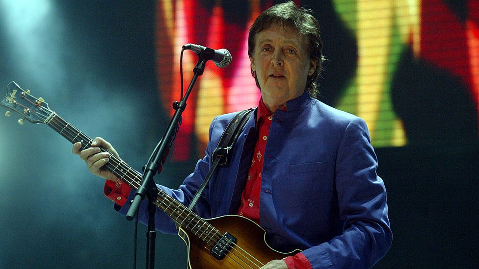BBC News - Paul McCartney 'starting to think' about Glastonbury 2020