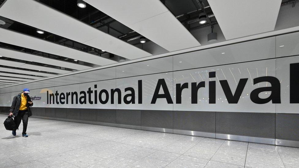 Aeropuerto en Reino Unido