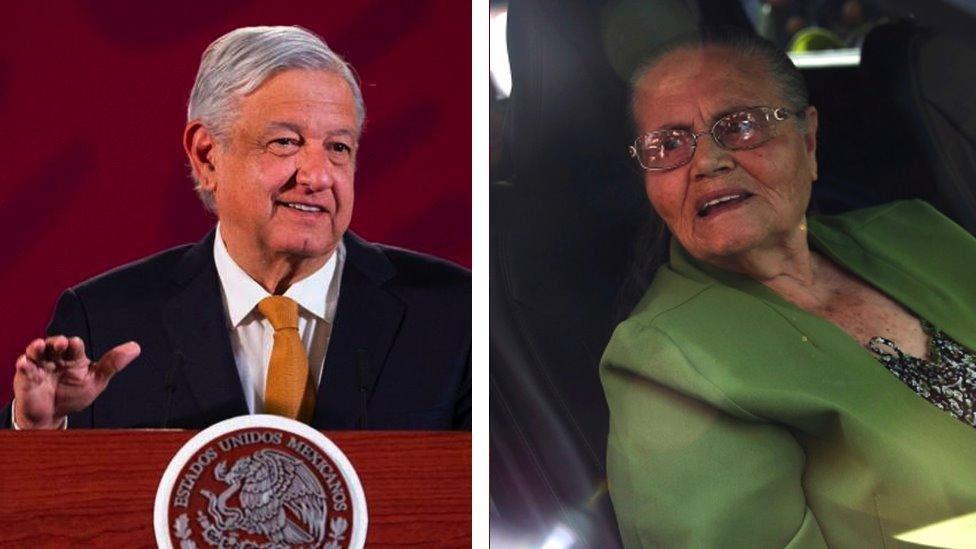 AMLO y la madre del Chapo: la explicación del presidente de México sobre su  controvertido apretón de manos a María Consuelo Loera - BBC News Mundo