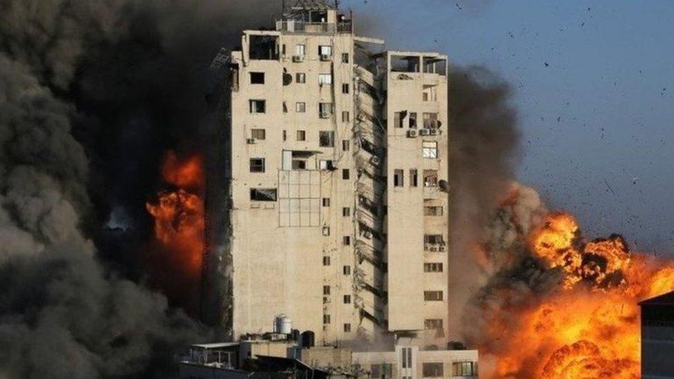 قصف إسرائيلي لغزة
