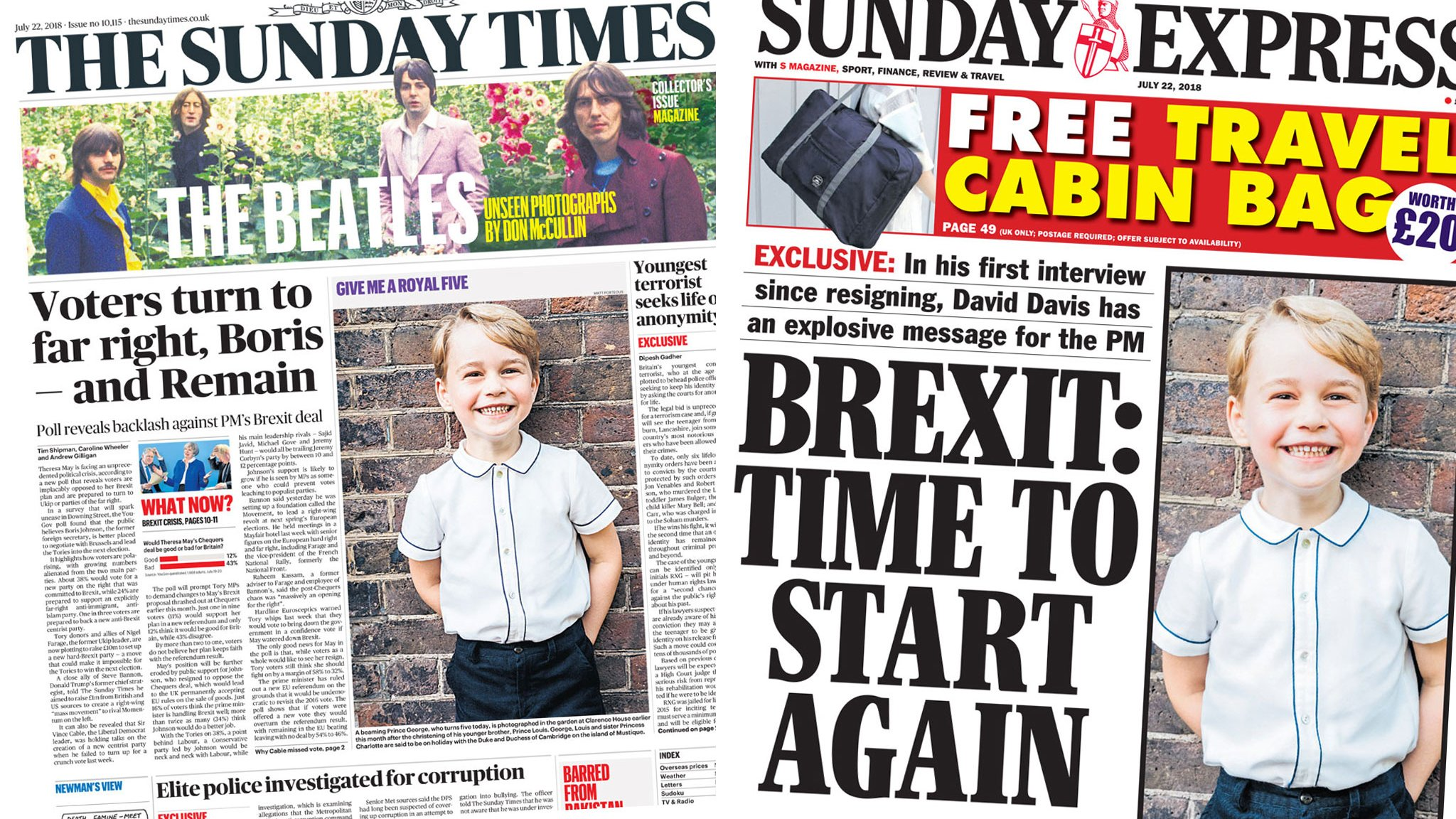 The Papers: 'Voters turn to far right' over Brexit